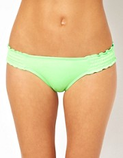 Seafolly Shimmer Shirred Side Hipster Bikini Brief