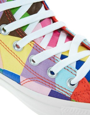 Image 2 of Converse Marimekko All Star Premium Multicoloured Sneakers