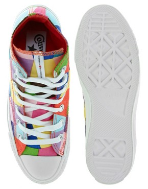 Image 3 of Converse Marimekko All Star Premium Multicoloured Sneakers