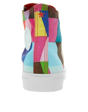 Image 4 of Converse Marimekko All Star Premium Multicoloured Sneakers
