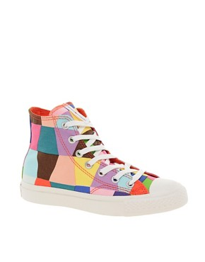 Image 1 of Converse Marimekko All Star Premium Multicoloured Sneakers