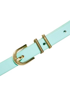 Image 2 ofASOS Metal Keeper Super Skinny Belt