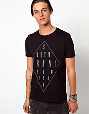 ASOS T-Shirt With Bronx Print