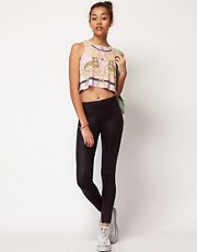River Island Wet Look Legging