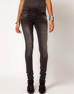 Image 1 ofReligion Judas Skinny Jeans In Grey Wash