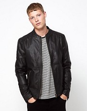 Barneys Originals Leather Jacket