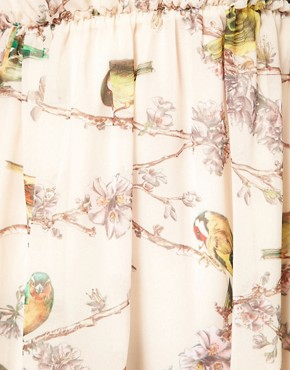 Image 3 ofTed Baker Dress With Bird Print