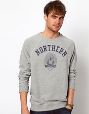 Jack &amp; Jones Sweat with Northern Print