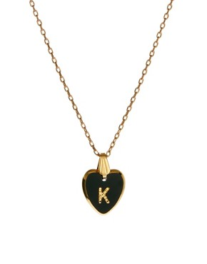 Image 1 ofGogo Philip K Initial Heart Necklace