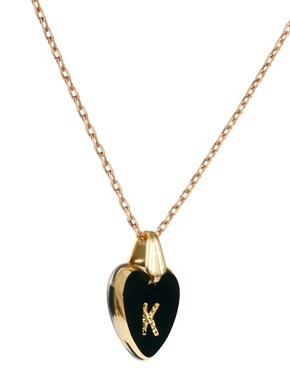Image 4 ofGogo Philip K Initial Heart Necklace