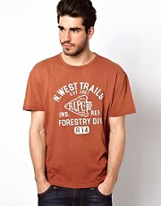 Polo Ralph Lauren T-Shirt with N West Trails Print