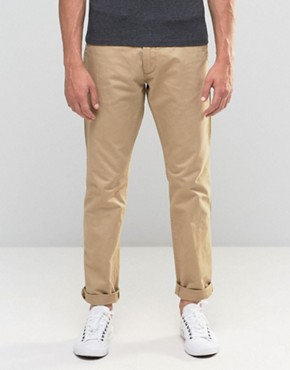 Esprit Chinos In Regular Fit In Beige