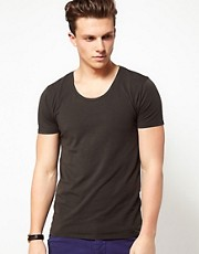 Scotch And Soda T-Shirt With Scoop Neck