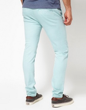 Image 2 of ASOS Skinny Bright Chinos