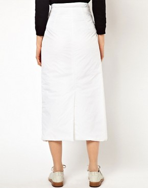 Image 2 ofJ W Anderson Padded Long Wrap Skirt