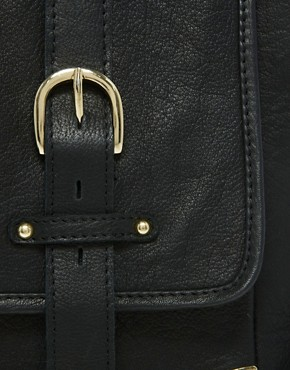 Image 4 ofASOS Leather Corner Detail Satchel Bag