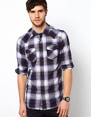 Diesel - Sulphur - Camicia a quadri con maniche lunghe