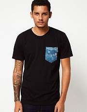 The Quiet Life T-Shirt Tie Dye Pocket
