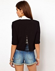 Very By Vero Moda Jacket With Cut Out Back