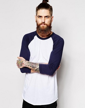 Image 1 ofAmerican Apparel Raglan Top