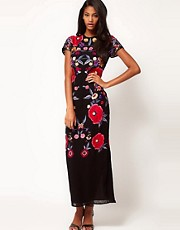 ASOS Maxi Dress with Embroidery