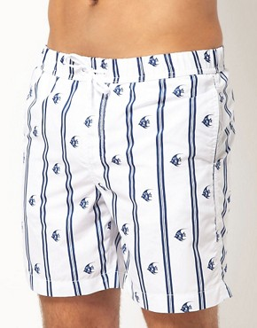 Bild 1 von ASOS  Badeshorts mit Fischmuster