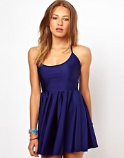 American Apparel Tricot Figure Skater Dress