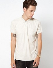 Plectrum by Ben Sherman Flecked Polo Shirt