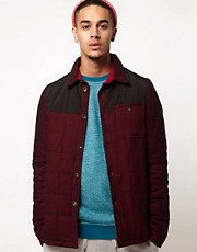 Supremebeing Quilted Overshirt
