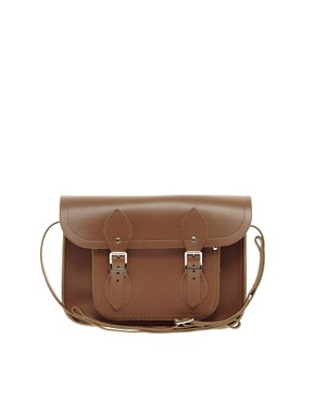 Image 1 ofCambridge Satchel Company Tan Leather 11&quot; Satchel