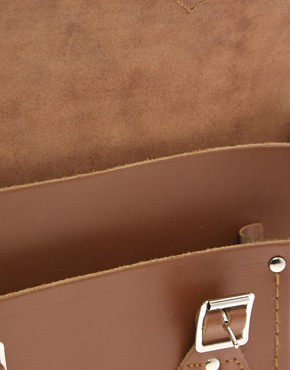 Image 2 ofCambridge Satchel Company Tan Leather 11&quot; Satchel