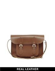 "Cambridge Satchel Company Tan Leather 11"" Satchel"