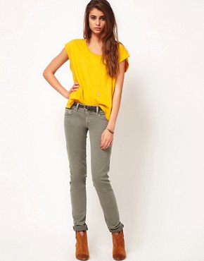 Image 4 ofDiesel Getlegg Coloured Skinny Jeans