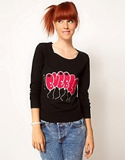 Elizabeth Lau for ASOS &#39;Havin A Bubble&#39; Jumper