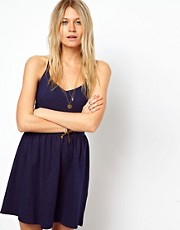 ASOS Sundress in Denim Look