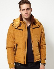Diesel Wiley Quilted Jacket With Hood