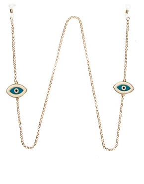Image 1 of ASOS Evil Eye Sunglasses Chain