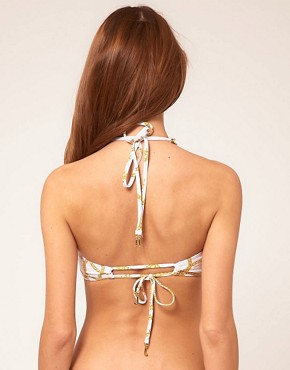 Image 2 ofJuicy Couture Chain Link Bandeau Bikini Top