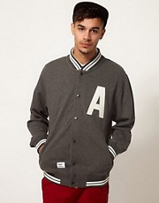 Addict  League Capital  Sweatjacke im College-Stil