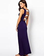 ASOS Bow Back Maxi Beach Dress