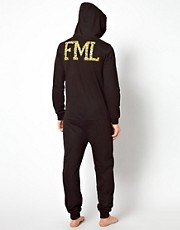 ASOS Onesie With FML Print