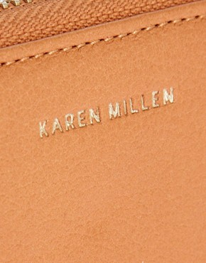 Image 3 ofKaren Millen Tan Leather Luxury Purse