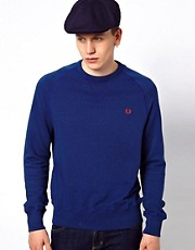 Fred Perry Sweatshirt in Garment Dye