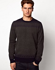 French Connection Lambswool Jumper Crew Neck