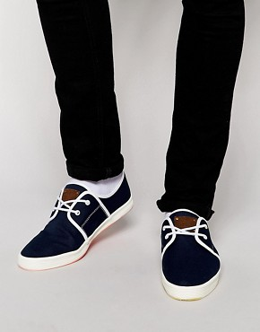 Image 1 ofFish &amp; Chips by Base London Plimsolls