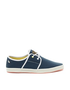 Image 4 ofFish &amp; Chips by Base London Plimsolls