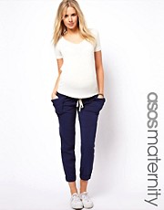 ASOS Maternity Pants with Drape Utility Pockets