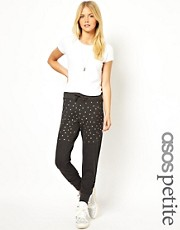 Pantalones de chndal adornados exclusivos de ASOS PETITE