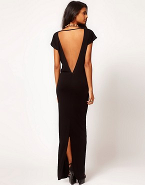 Image 1 ofASOS Maxi Dress with Low Back