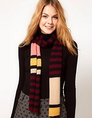 Alice Hannah Stripe Diamante Scarf